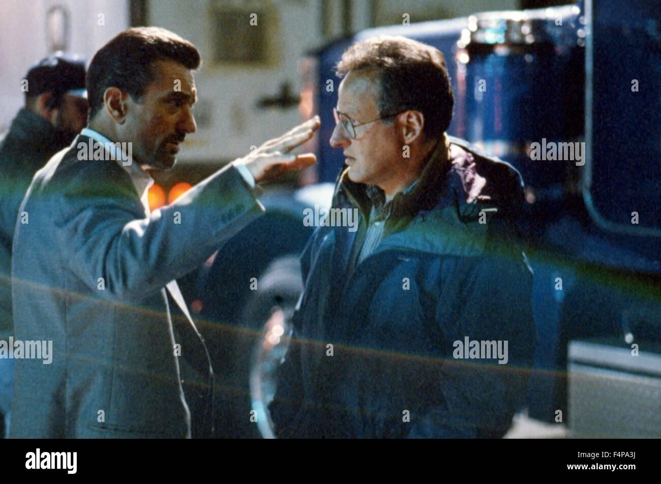 Michael Mann, Robert de Niro / Heat 1995 directed by Michael Mann - Stock Image