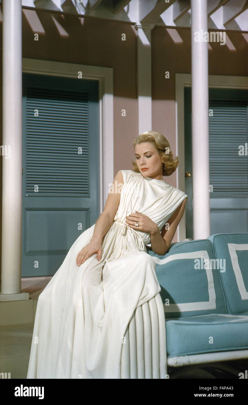 Grace Kelly / High Society 1956 directed by Charles Walters - Stock Image