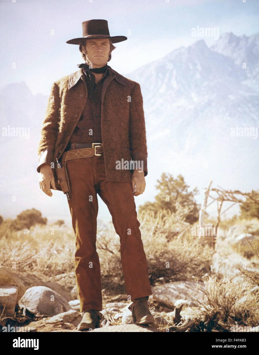 Clint Eastwood / Joe Kidd 1972 directed by John Sturges - Stock Image