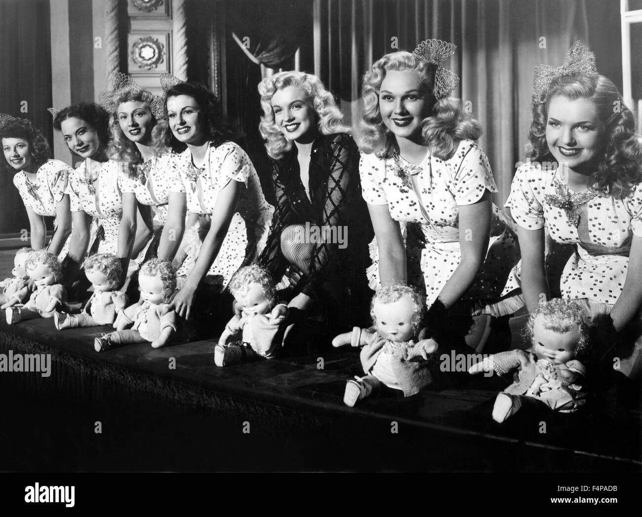 Marilyn Monroe / Ladies Of The Chorus / 1948 directed by Phil Karlson - Stock Image