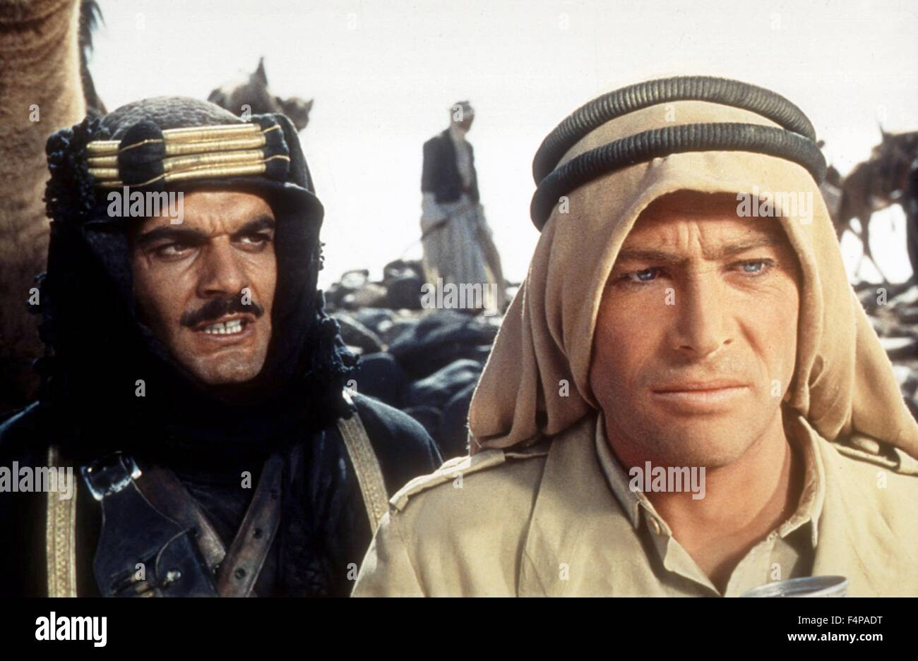 Omar Sharif, Peter O'Toole / Lawrence of Arabia 1962 directed by David Lean - Stock Image