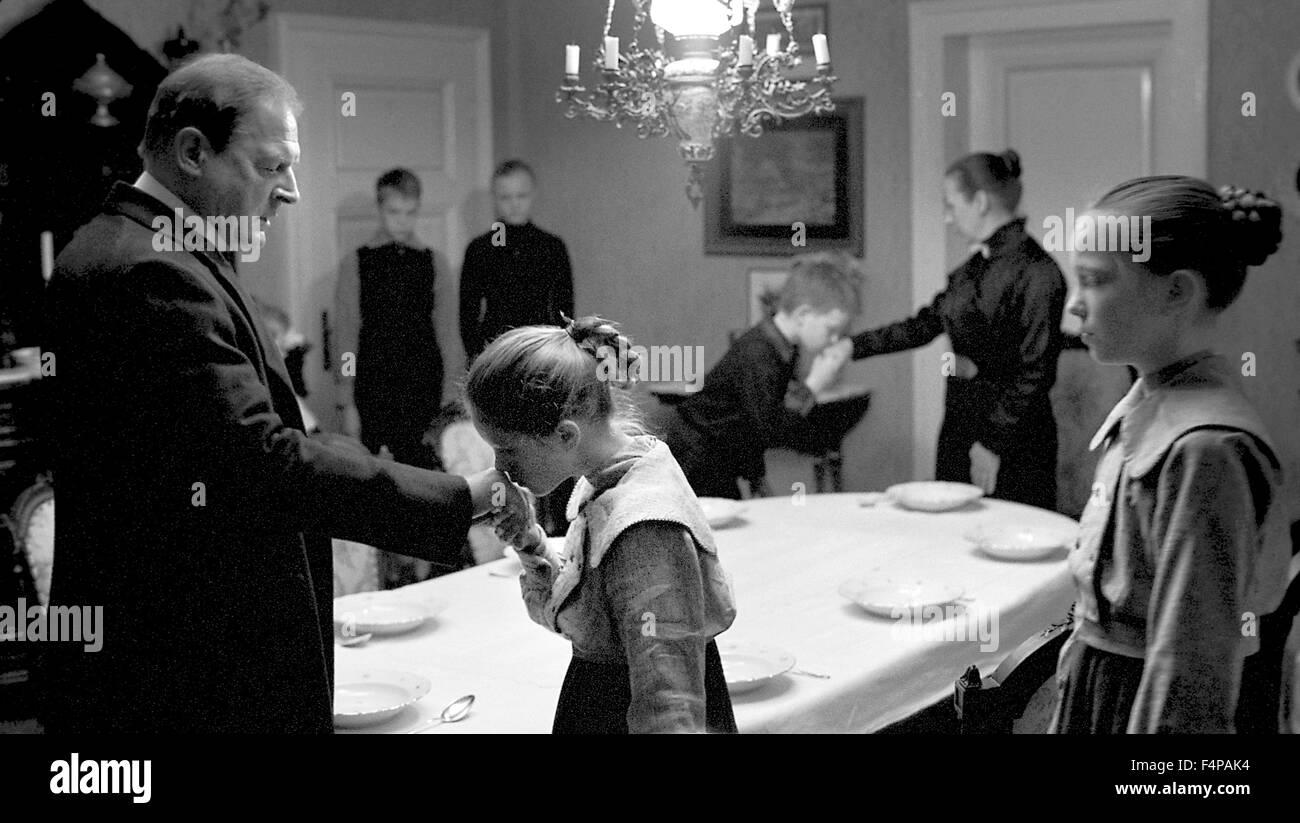 Burghart Klaubner, Steffi Kühnert, Leonie Benesch / Le Ruban Blanc 2009 directed by Michael Haneke - Stock Image