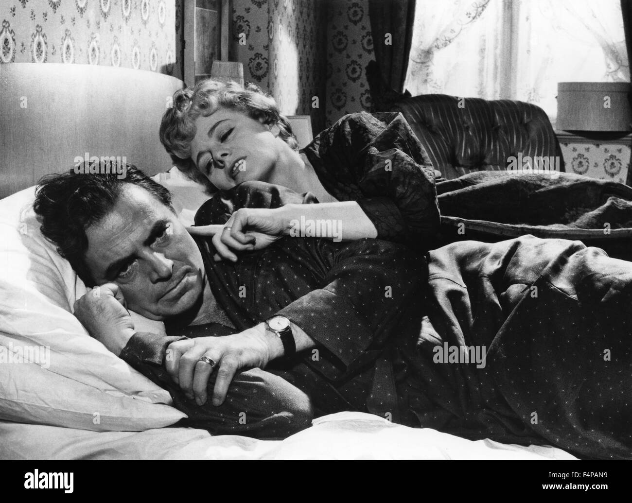 James Mason, Shelley Winters / Lolita 1962 directed by Stanley Kubrick - Stock Image