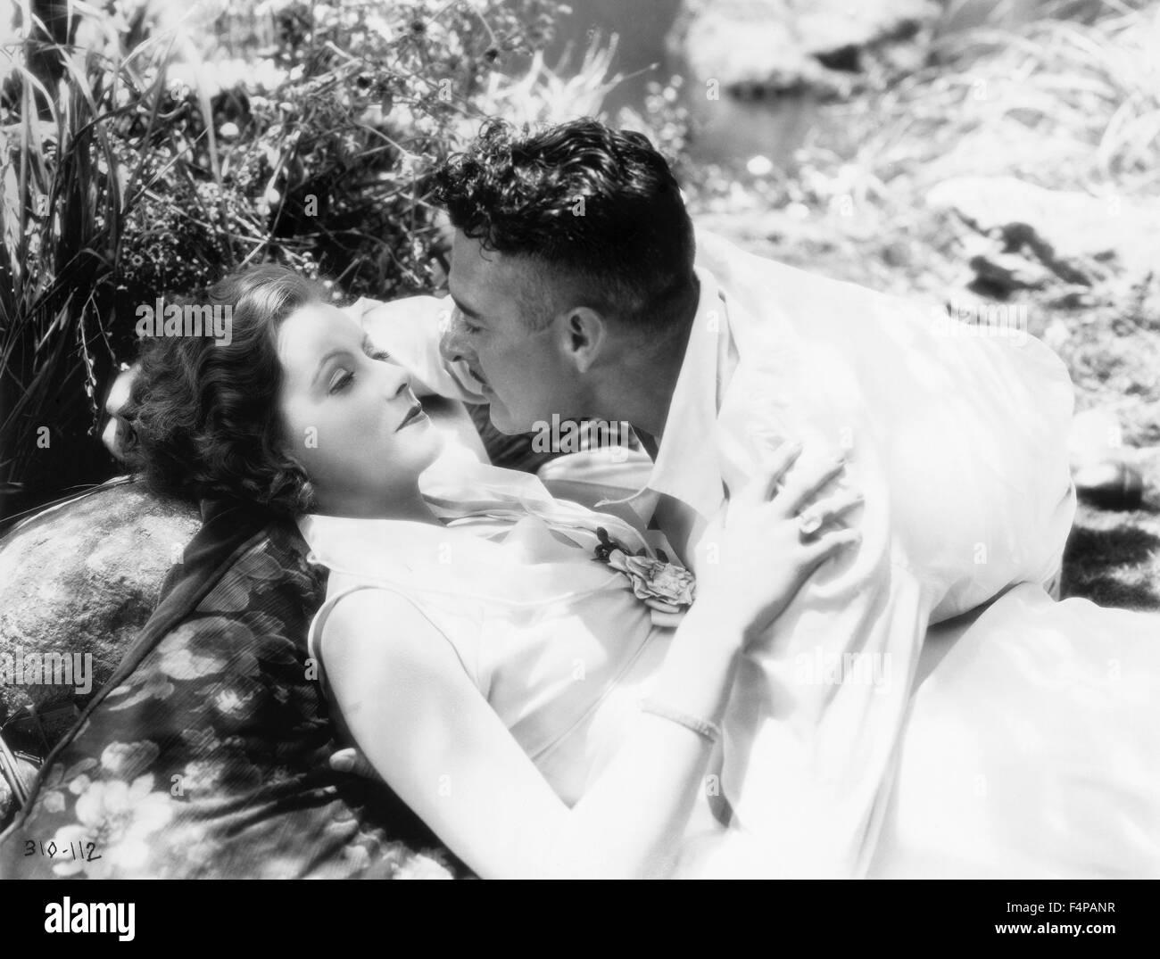 Greta Garbo, John Gilbert / Love 1927 directed by Edmund Goulding - Stock Image