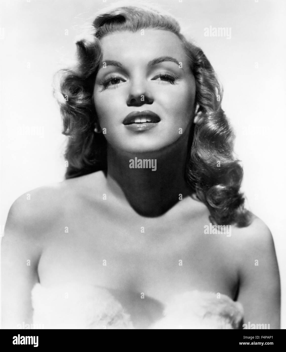 Marilyn Monroe / Love Happy 1949 directed by David Miller - Stock Image