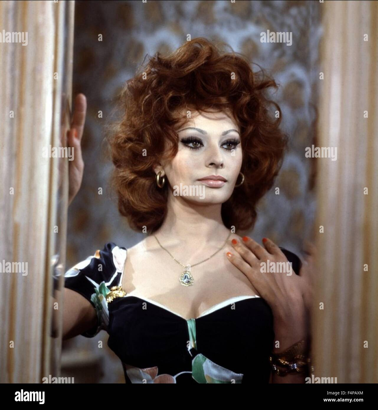 Sophia Loren / Mariage a l'Italienne 1964 directed by Vittorio De Sica - Stock Image