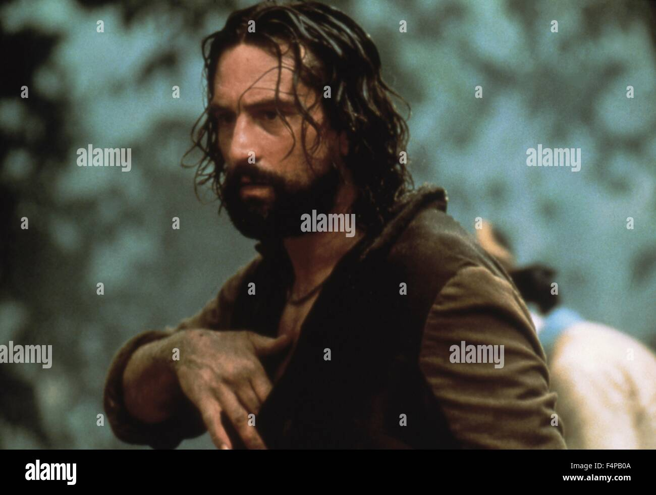 Robert de Niro / The Mission 1986 directed by Roland Joffe - Stock Image