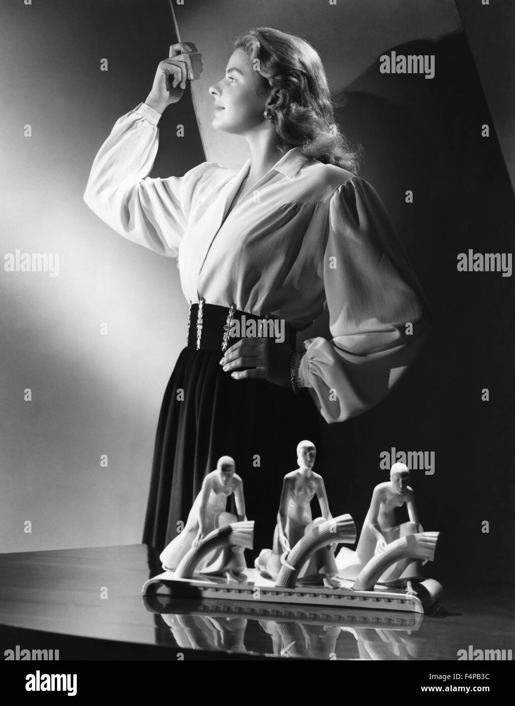 Ingrid Bergman, / Notorious 1946 directed by Alfred Hitchcock - Stock Image