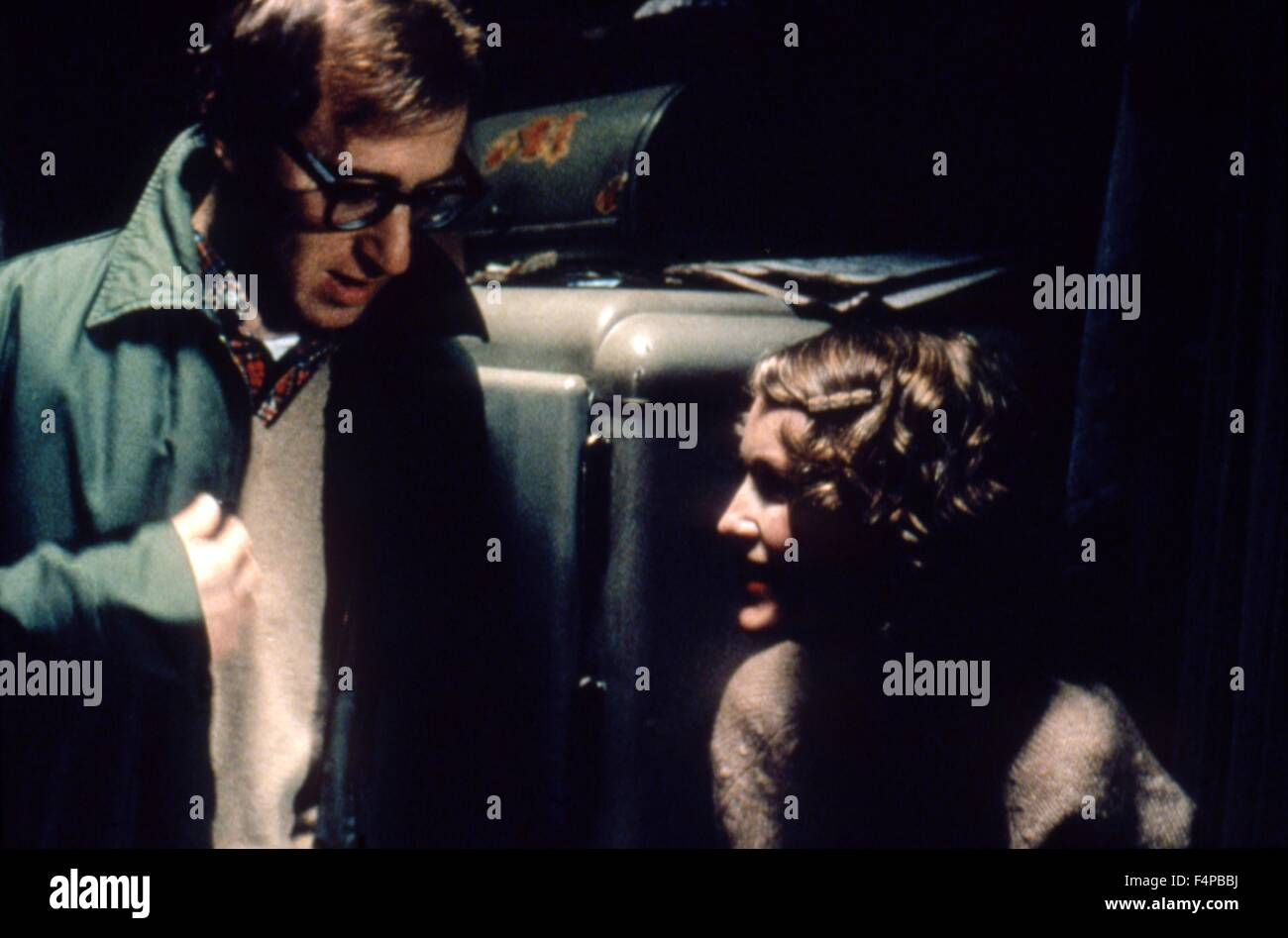 Purple Rose Of Cairo 1985 directed by Woody Allen - Stock Image