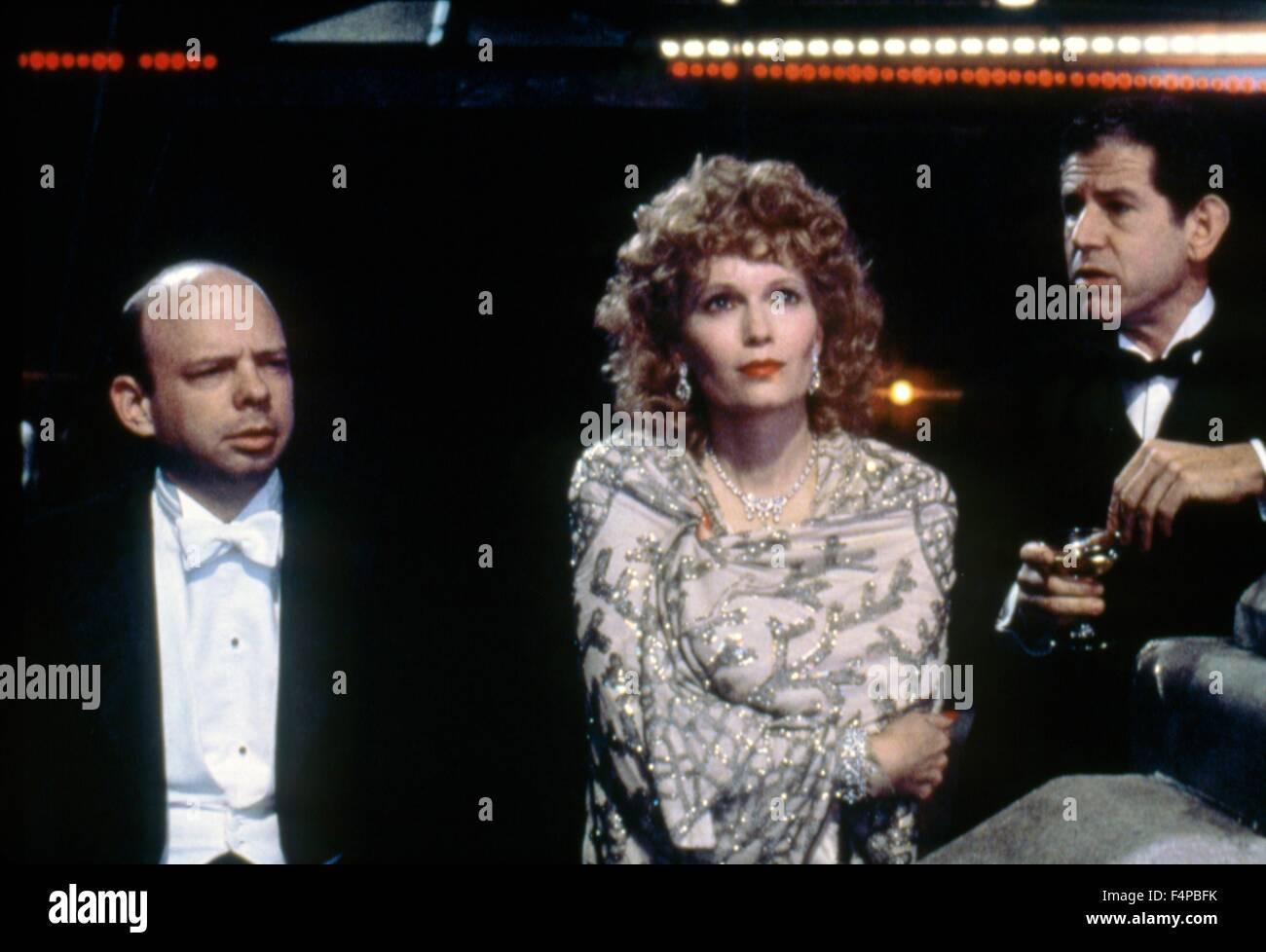 Mia Farrow, Tony Roberts / Radio Days 1987 directed by Woody Allen - Stock Image