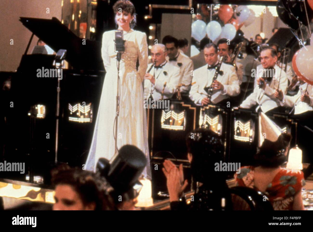 Diane Keaton / Radio Days 1987 directed by Woody Allen - Stock Image
