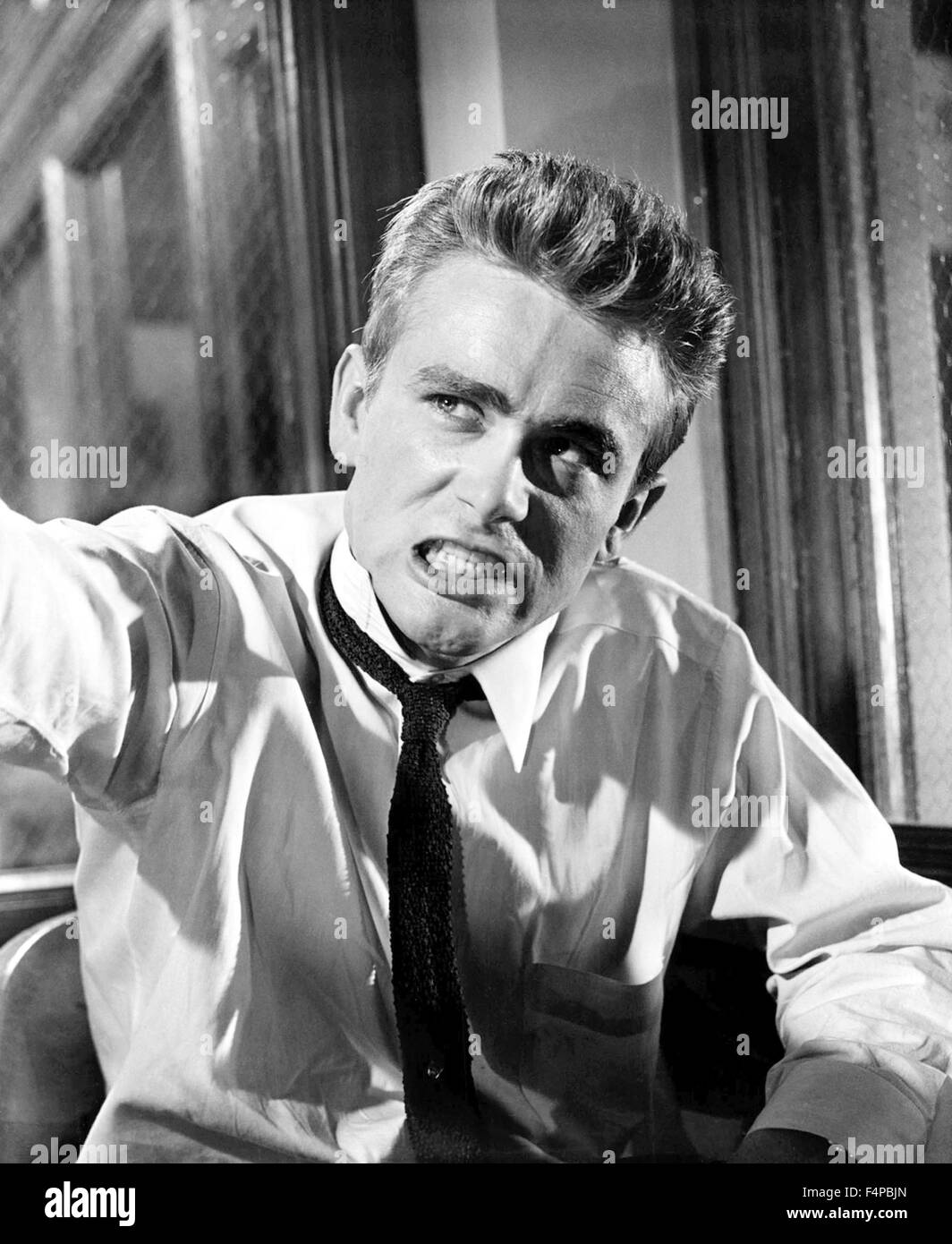 James Dean / Rebel Without A Cause 1955 directed by Nicolas Ray - Stock Image