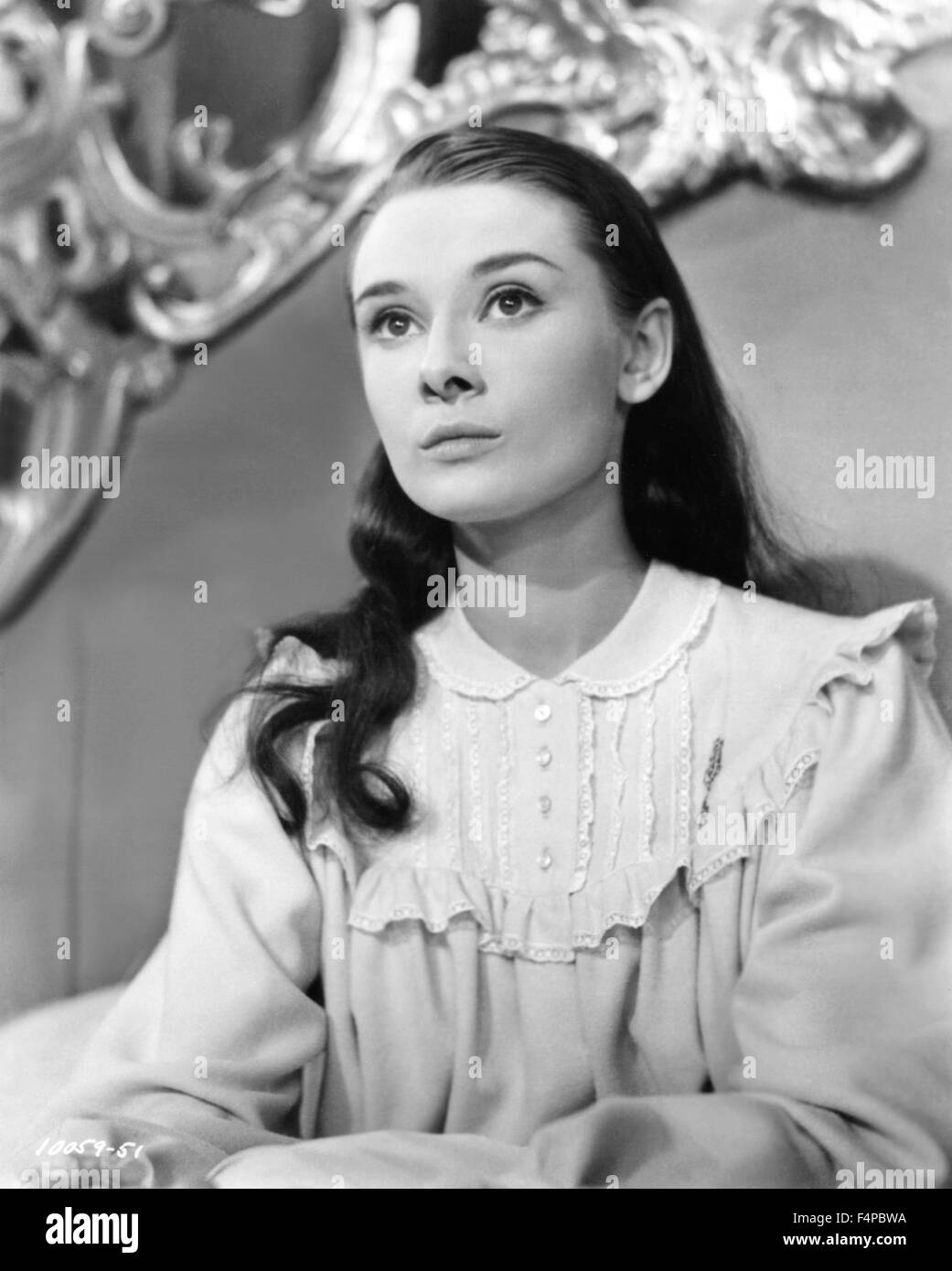 Audrey Hepburn Roman Holiday 1953 Directed By William Wyler Stock
