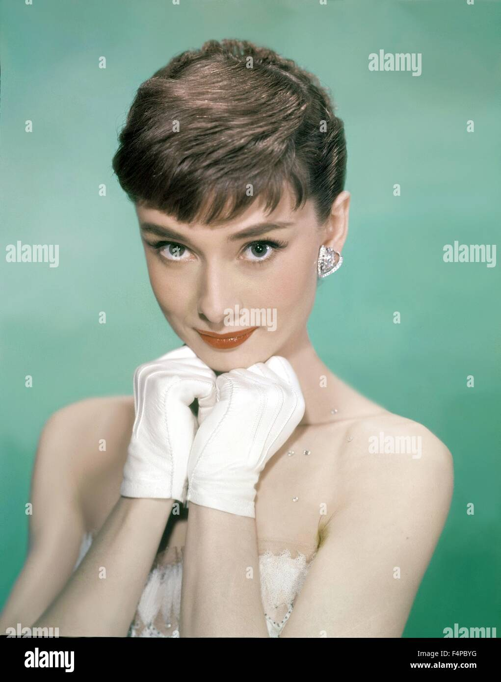 Audrey Hepburn / Sabrina 1954 directed by Billy Wilder (Paramount Pictures) - Stock Image