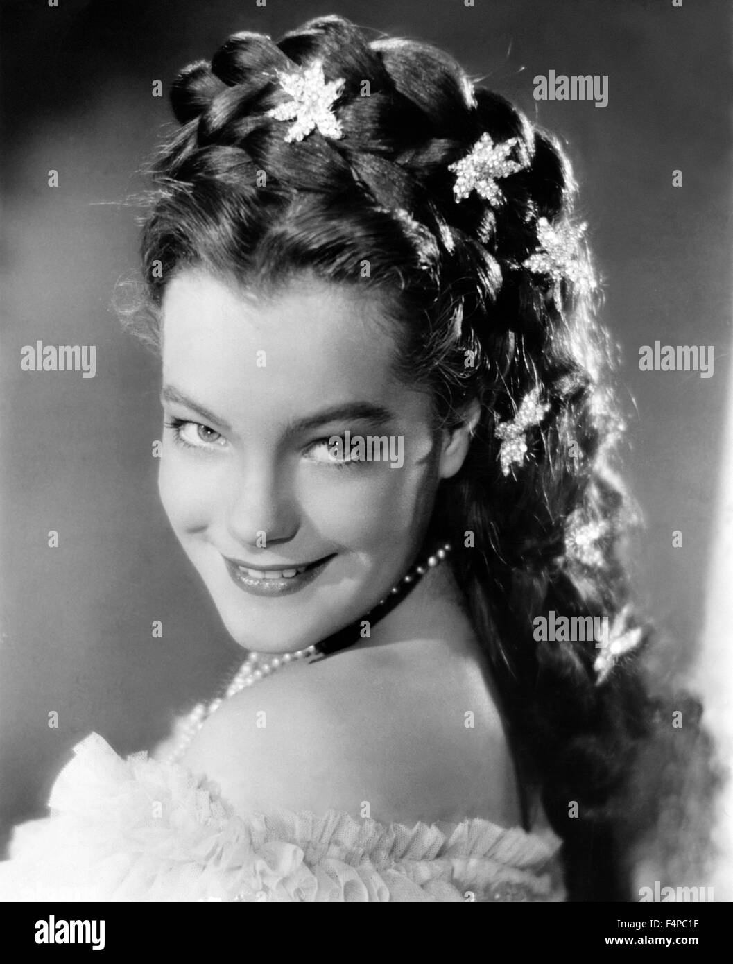 Romy Schneider Sissi 1955 Black And White Stock Photos Images Alamy