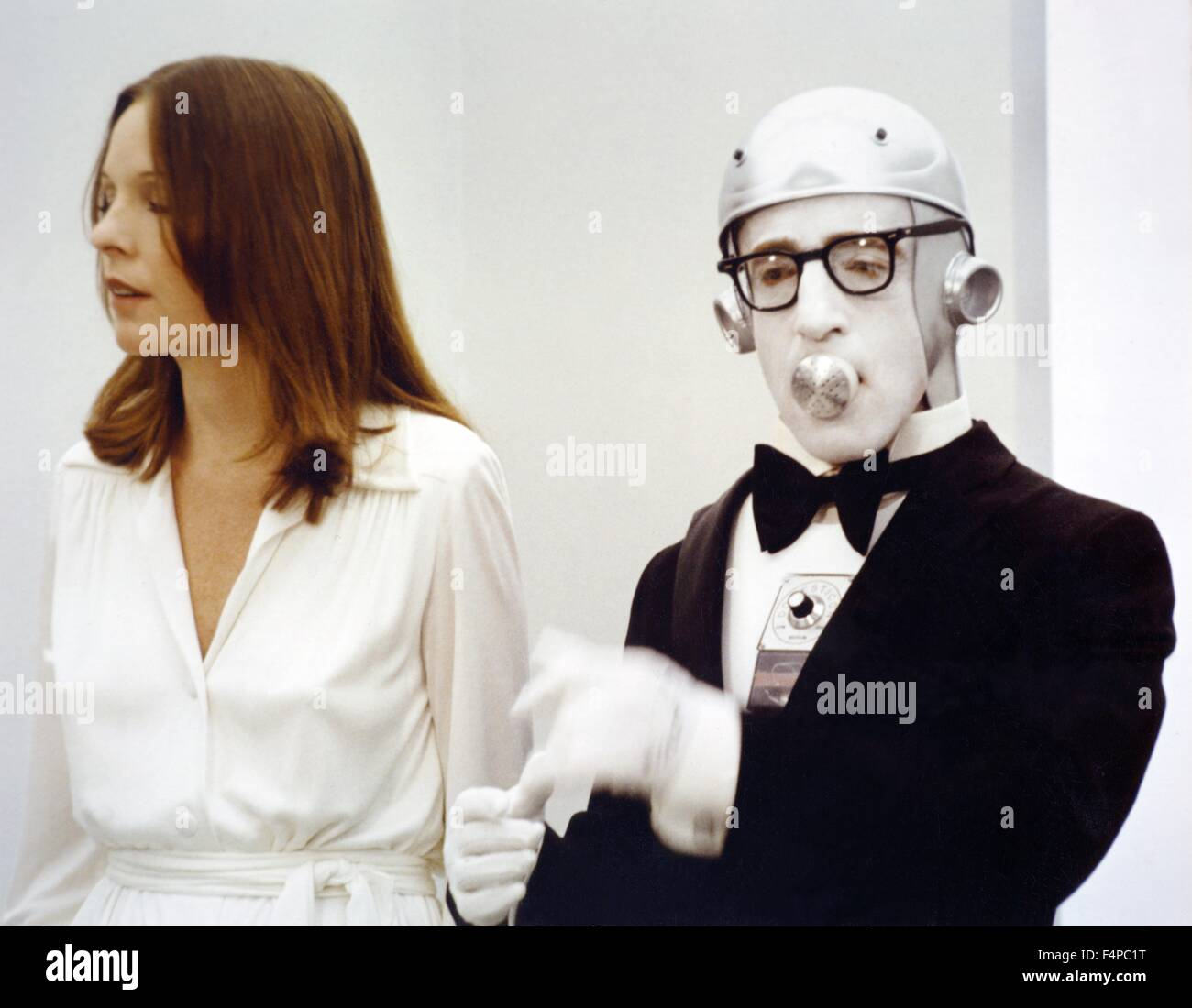 Diane Keaton, Woody Allen / Sleeper 1973 directed by Woody Allen - Stock Image