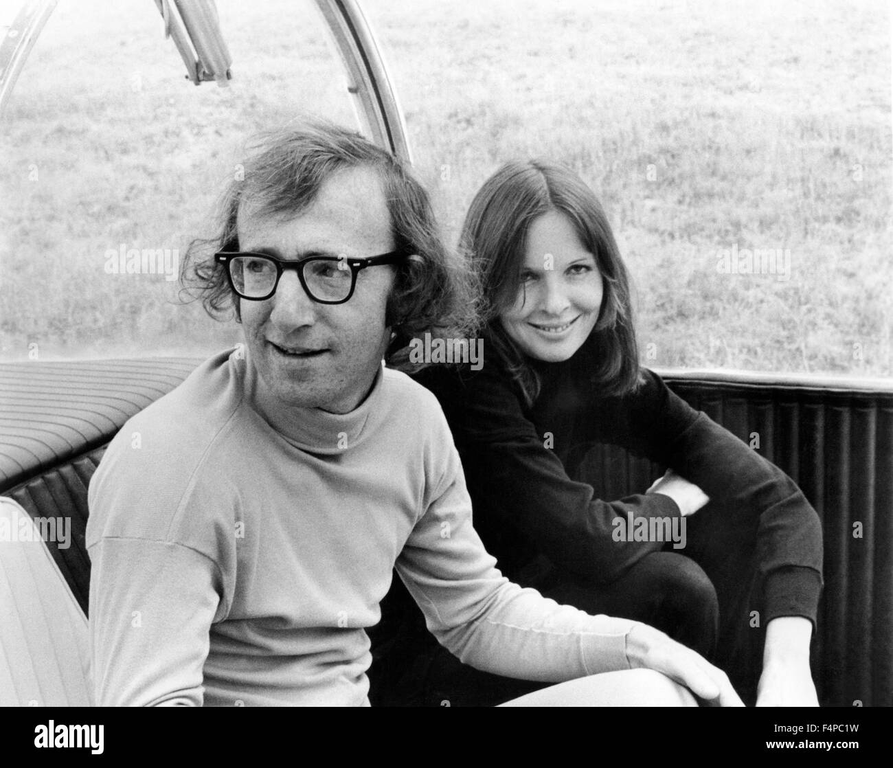 Woody Allen, Diane Keaton / Sleeper 1973 directed by Woody Allen - Stock Image