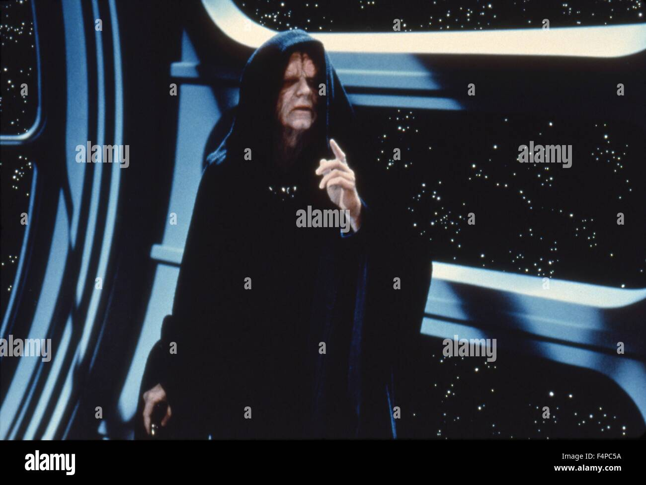 Ian McDiarmid / Star Wars - Return Of The Jedi 1983 directed by Richard Marquand - Stock Image