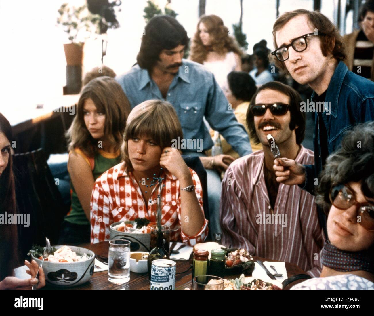 Woody Allen / Take The Money And Run 1969 directed by Woody Allen - Stock Image