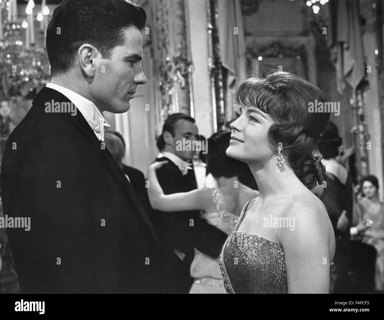 Tom Tryron, Romy Schneider / The Cardinal 1963 directed by Otto Preminger - Stock Image