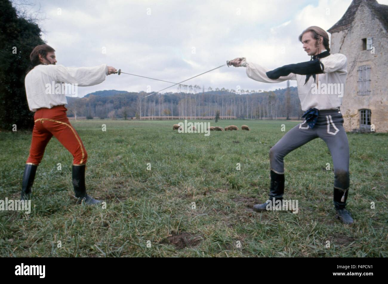 Harvey Keitel, Keith Carradine / The Duellists 1977 directed by Ridley Scott - Stock Image