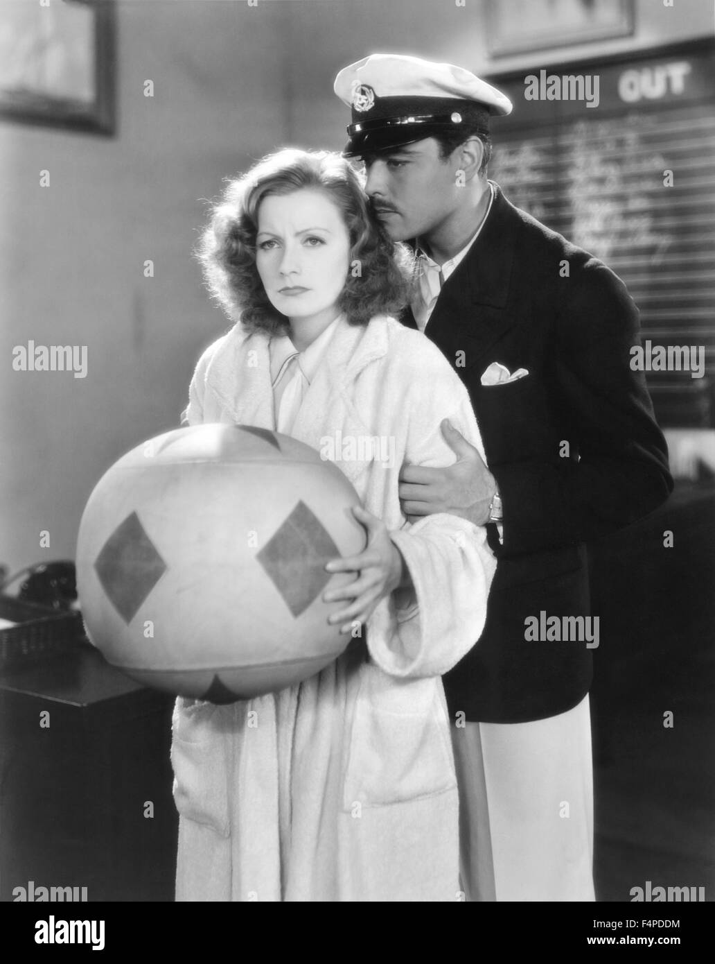 Greta Garbo, Nils Asther / The Single Standard 1929 directed by John S. Robertson - Stock Image