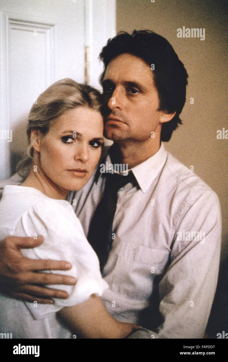 Sharon Gless, Michael Douglas / The Star Chamber 1983 directed by Peter Hyams - Stock Image