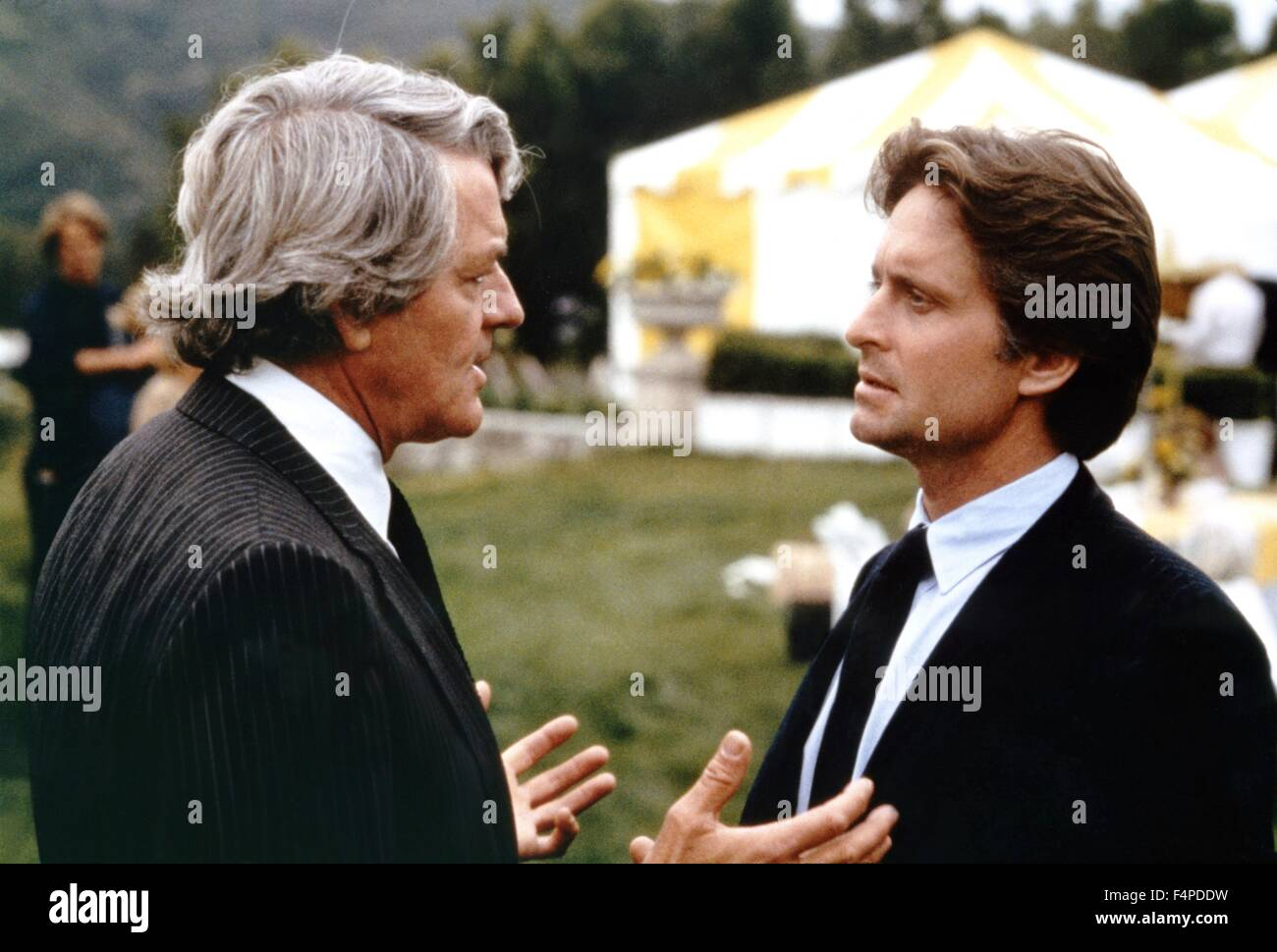 Hal Holbrook, Michael Douglas / The Star Chamber 1983 directed by Peter Hyams - Stock Image