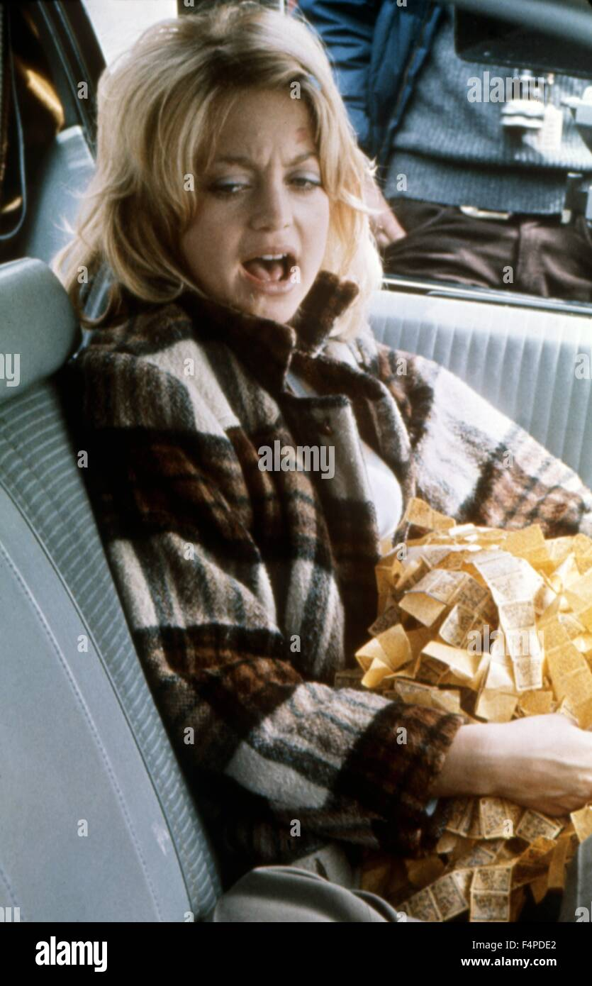 Goldie Hawn / The Sugarland Express 1974 directed by Steven Spielberg - Stock Image