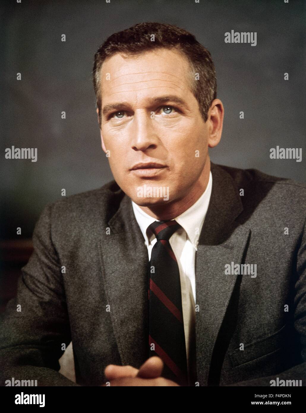 Paul Newman / Torn Curtain 1966 directed by Alfred Hitchcock - Stock Image