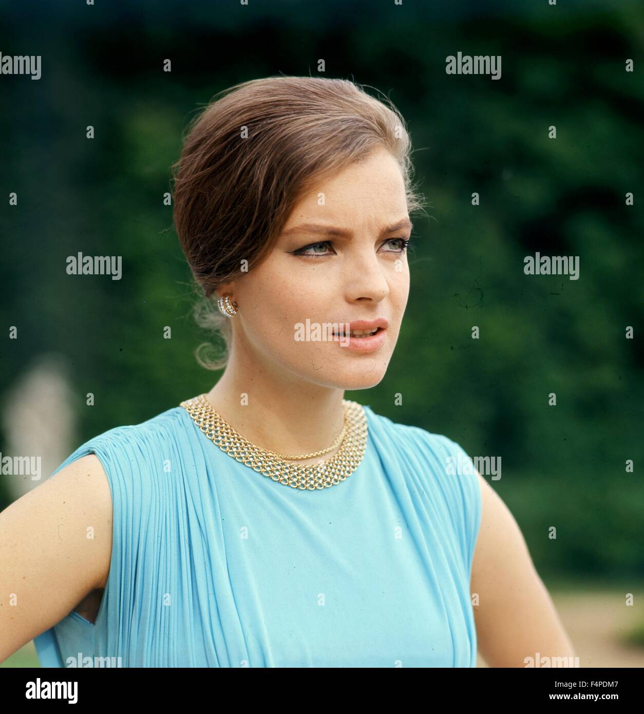Romy Schneider / Triple Cross 1966 directed by Terence Young - Stock Image