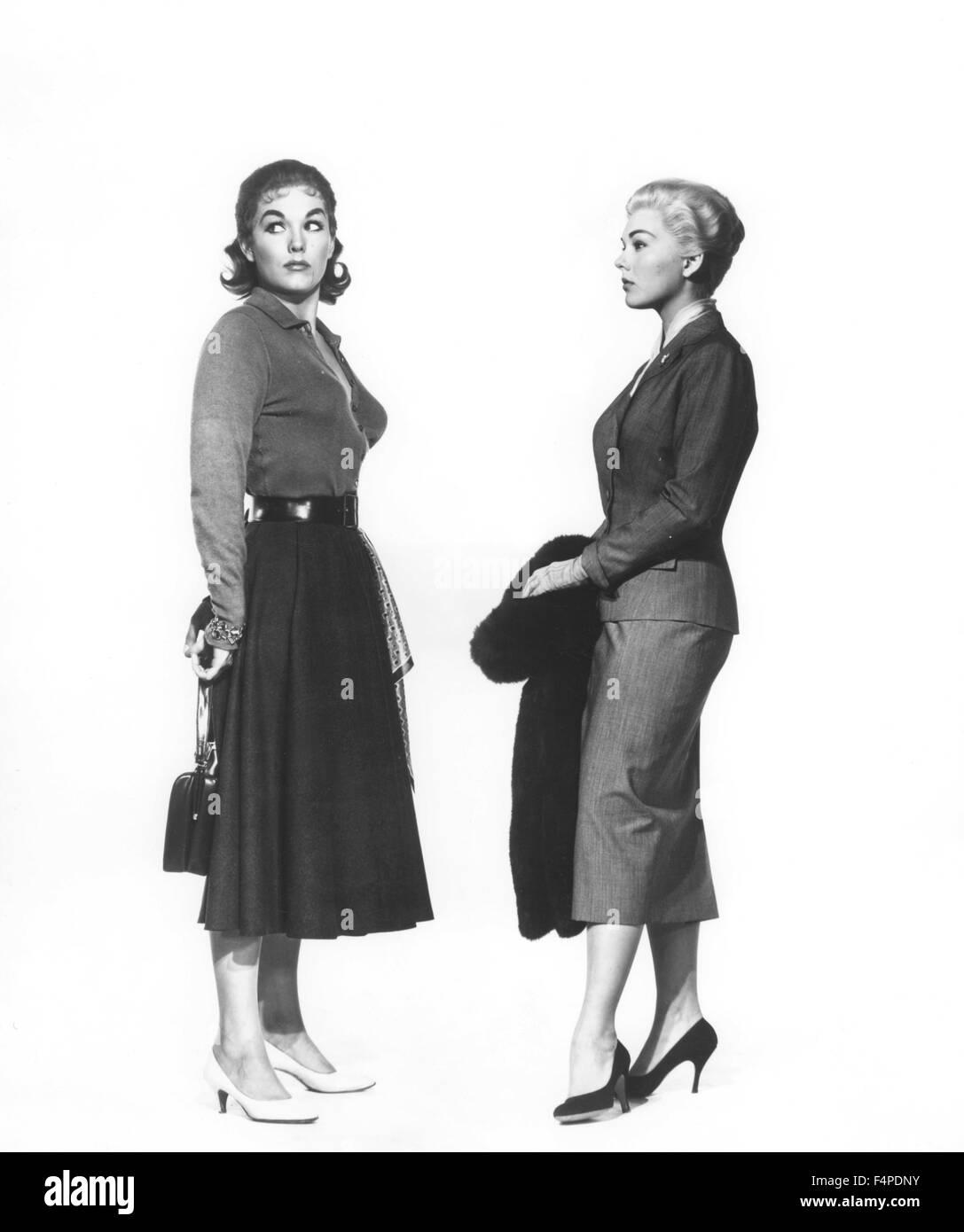 Kim Novak / Vertigo 1958 directed by Alfred Hitchcock - Stock Image