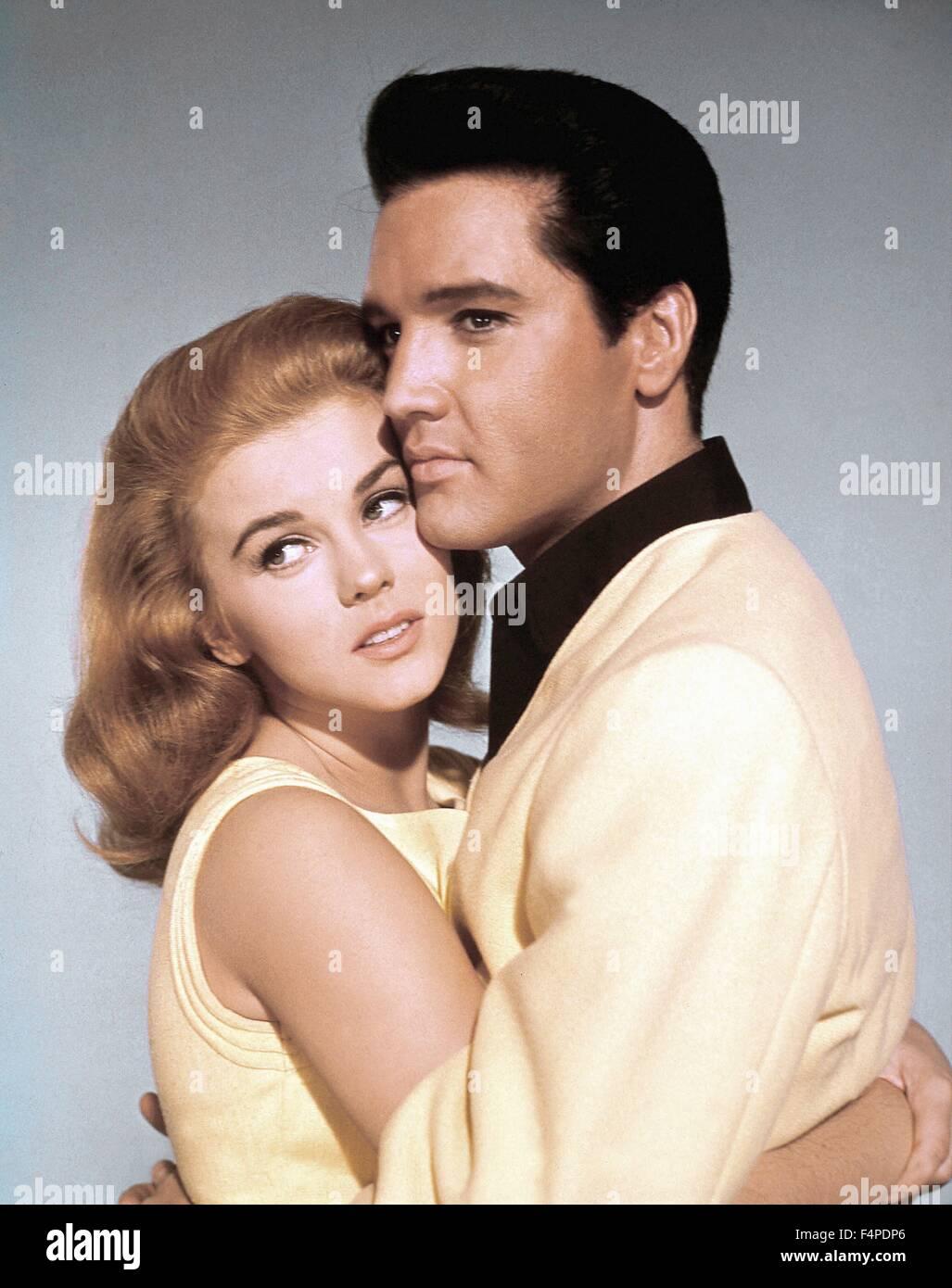 Ann-Margret, Elvis Presley / Viva Las Vegas 1964 directed by George Sidney - Stock Image