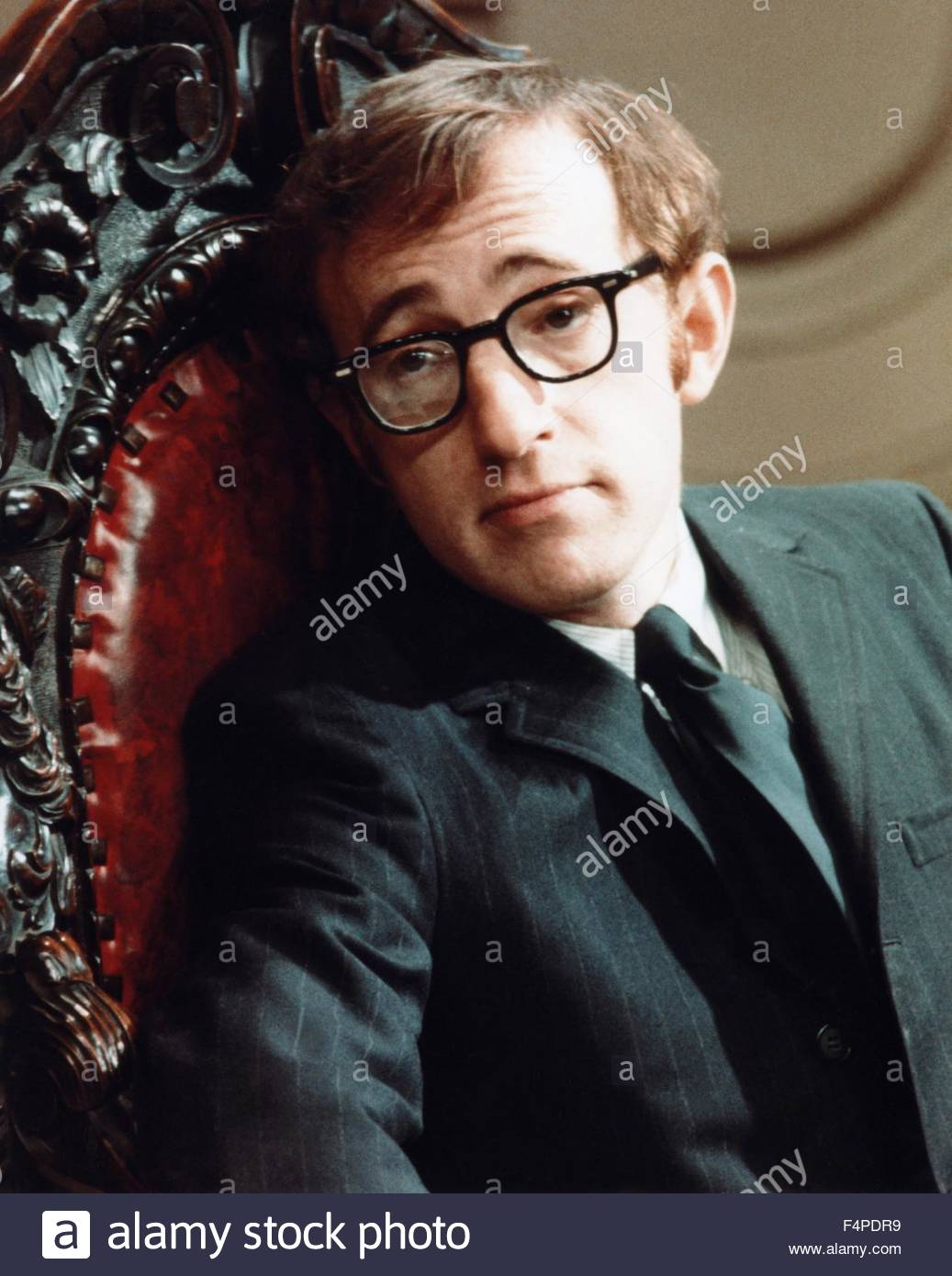 Woody Allen / What's New Pussycat 1965 directed by Clive Donner - Stock Image