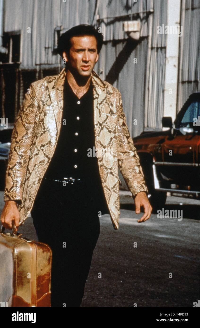 Nicolas Cage / Wild at Heart 1990 directed by David Lynch - Stock Image