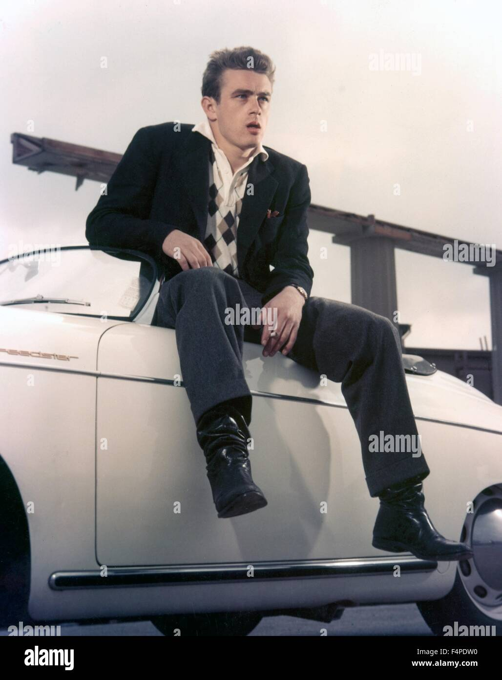 James Dean in the 1950's - Stock Image
