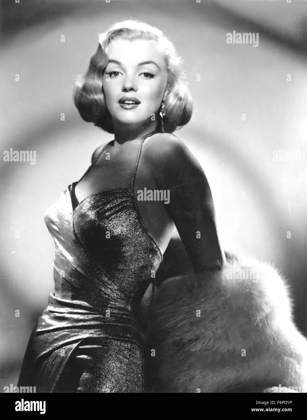 Marilyn Monroe in 1950 - Stock Image