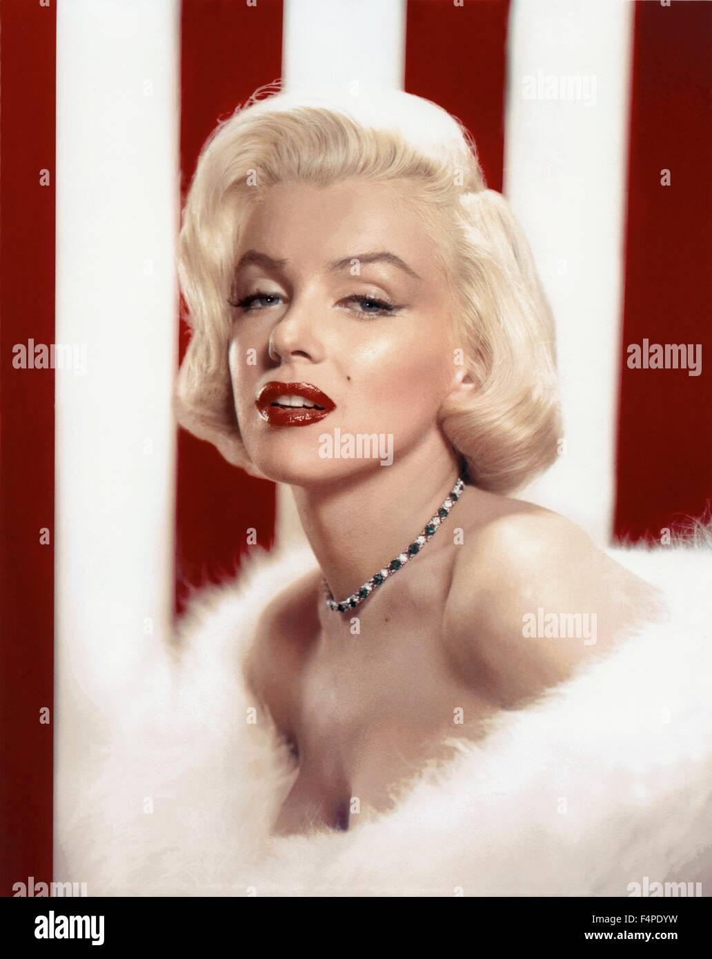 Marilyn Monroe in 1953 - Stock Image