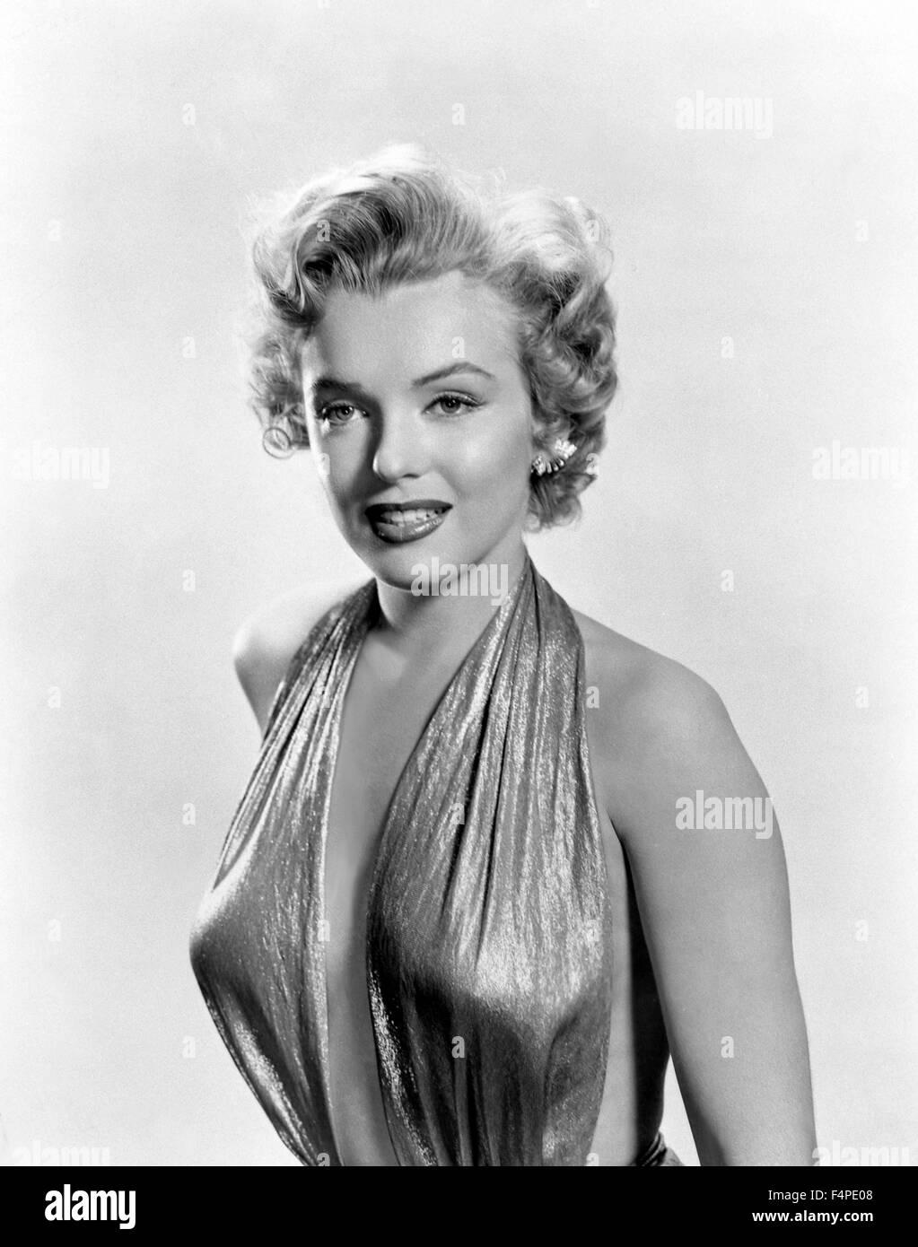 Marilyn Monroe in 1954 - Stock Image