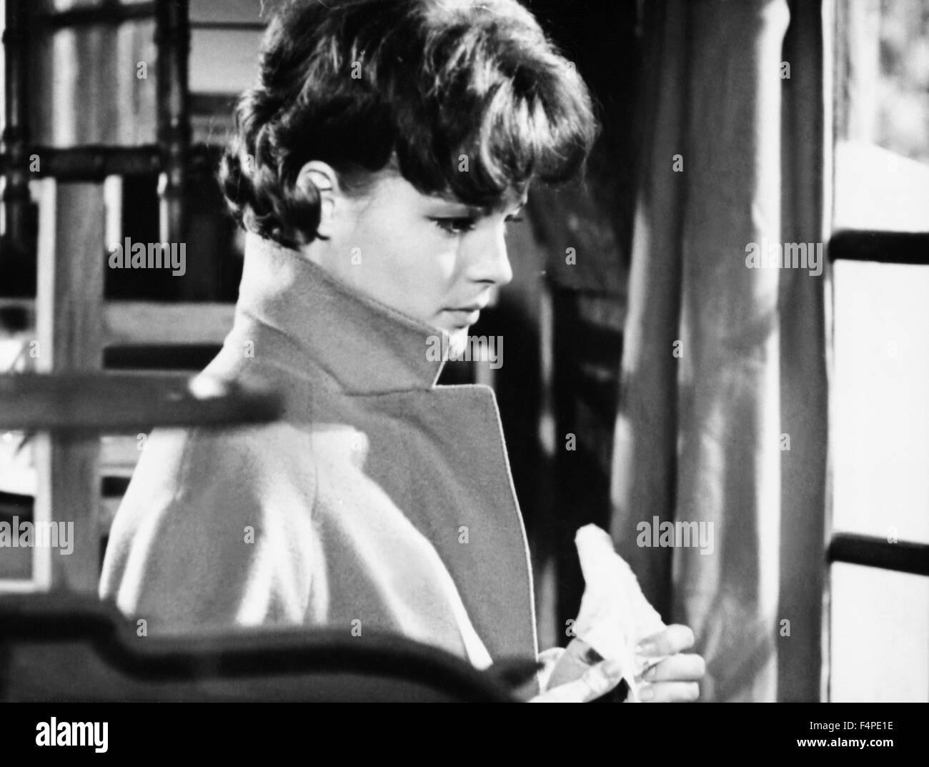 Romy Schneider / Le combat dans l'île / 1961 directed by Alain Cavalier - Stock Image