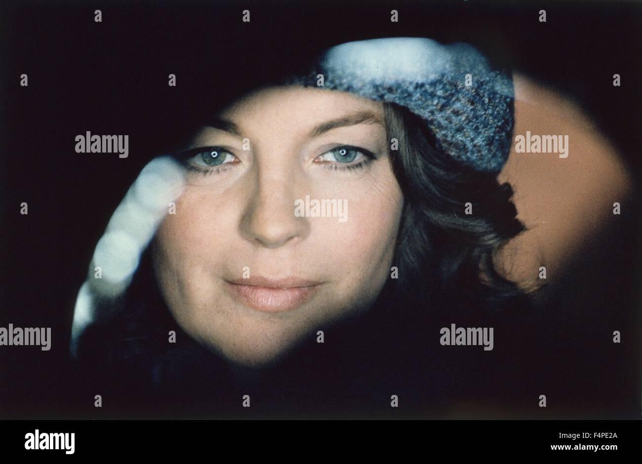 Romy Schneider / Phantom Love / 1981 directed by Dino Risi - Stock Image
