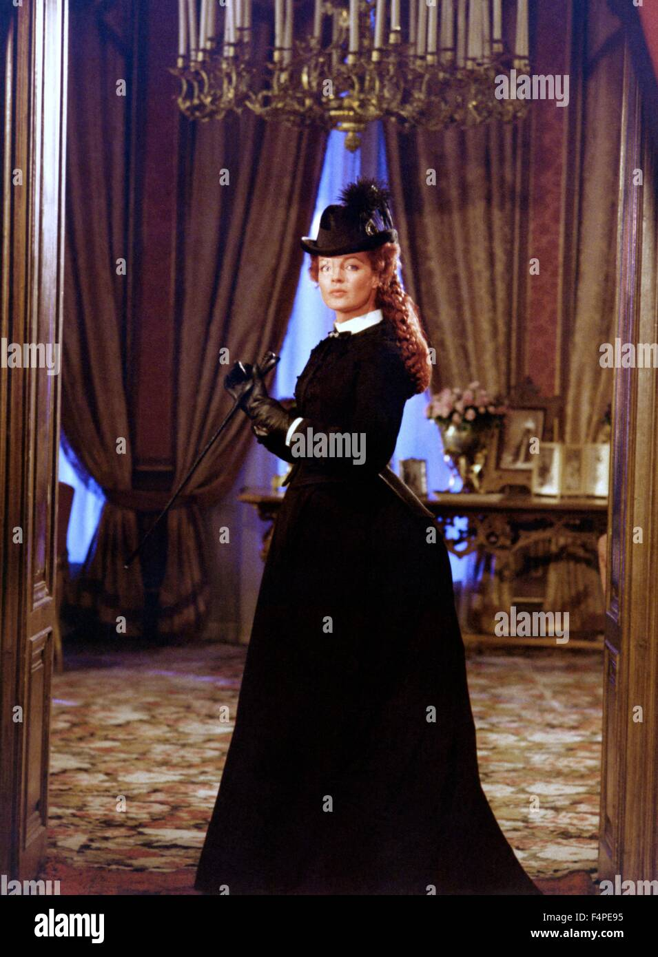 Romy Schneider / Ludwig : The Mad King of Bavaria / 1972 directed by Luchino Visconti Stock Photo