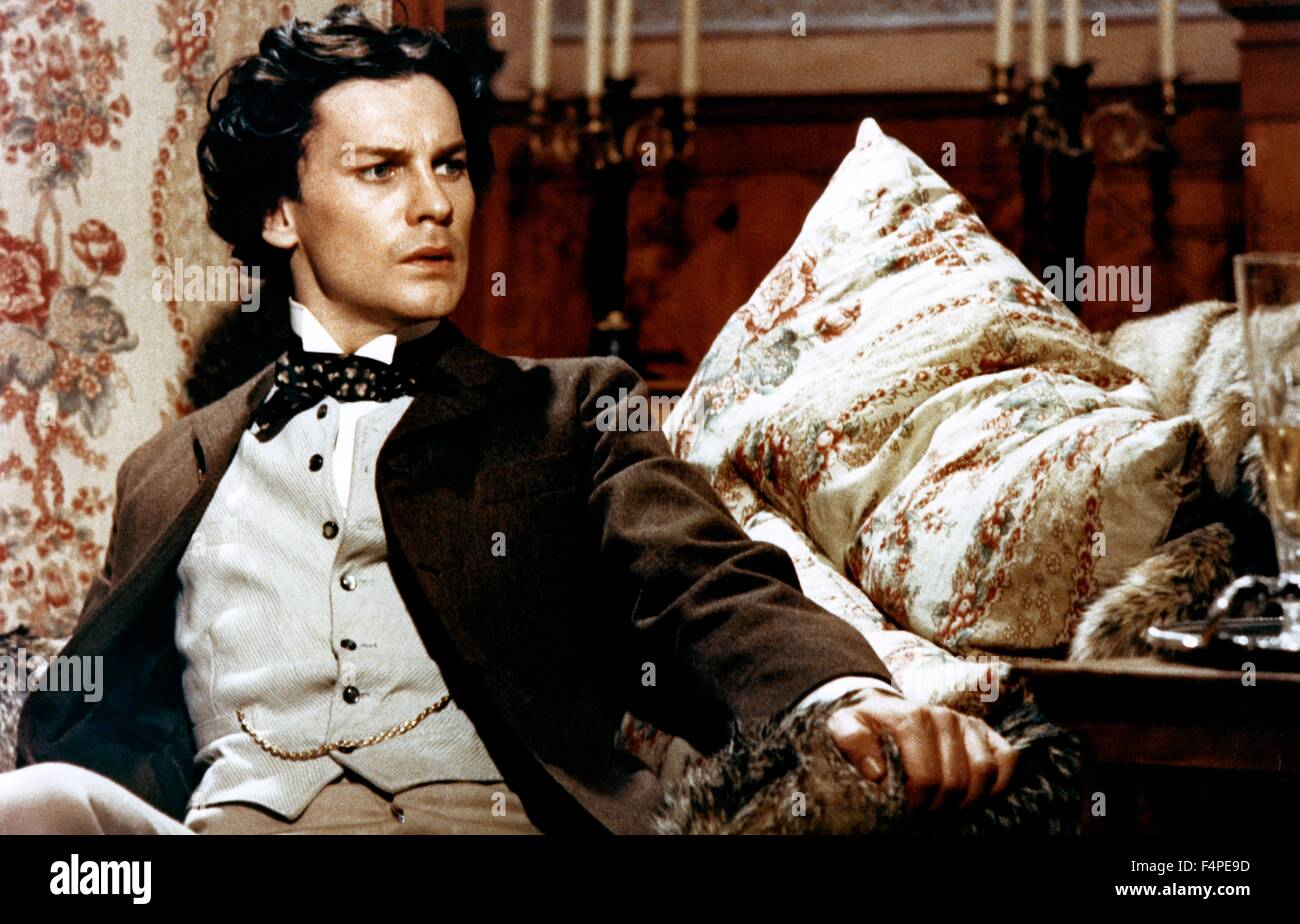 Helmut Berger / Ludwig : The Mad King of Bavaria / 1972 directed by Luchino Visconti - Stock Image