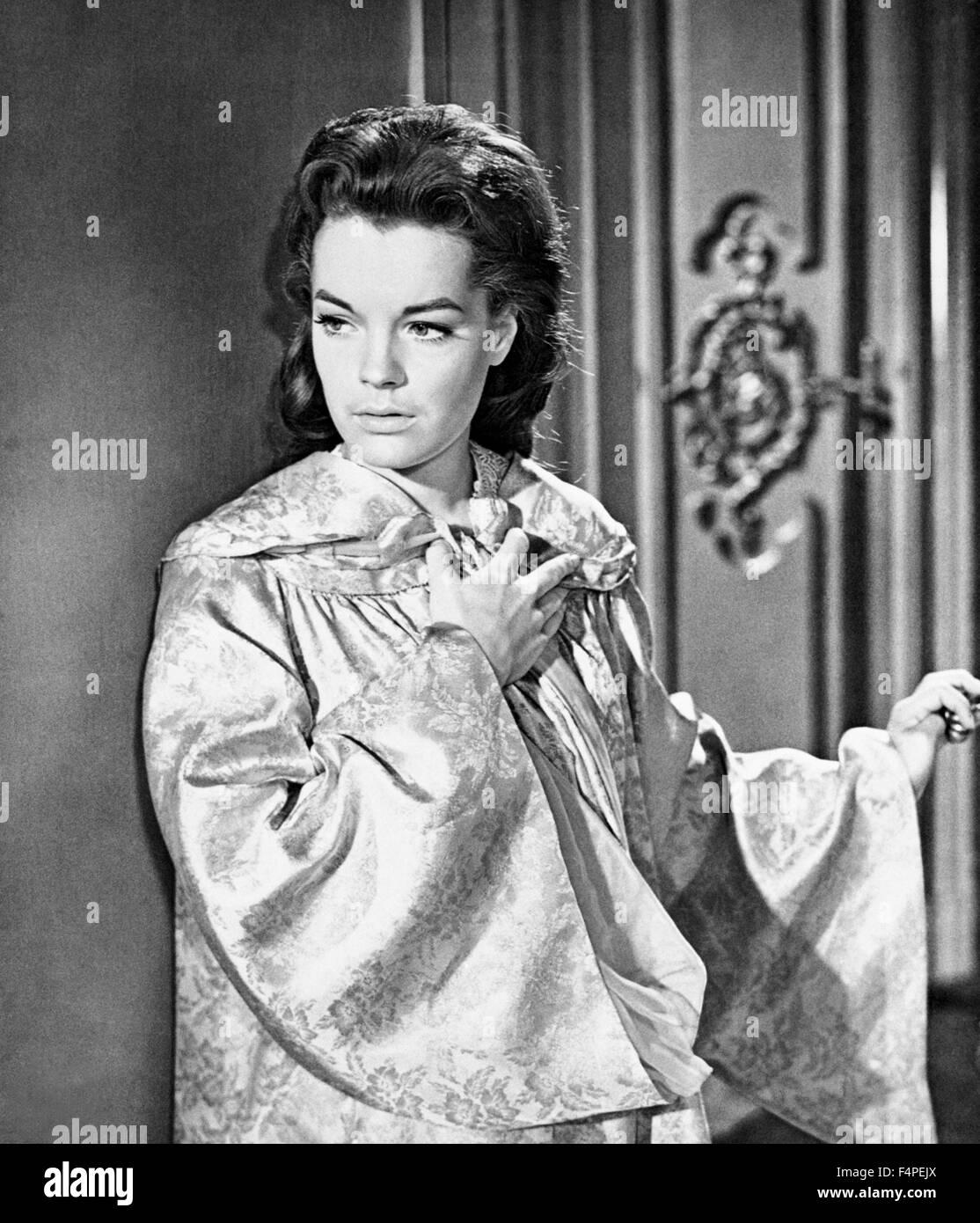 Romy Schneider / Sissi : The Fateful Years of an Empress / 1957 directed by Ernst Marischka - Stock Image