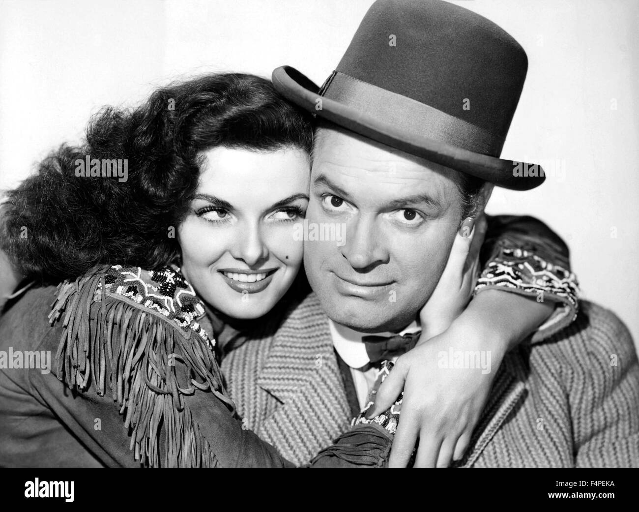 Jane Russell and Bob Hope / The Paleface / 1948 directed by Norman Z. McLeod - Stock Image