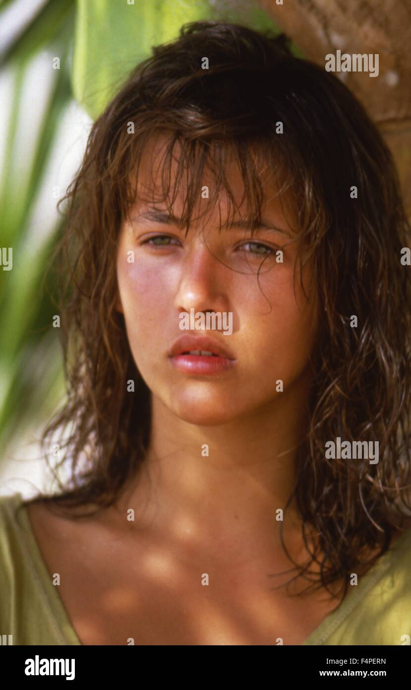 Sophie Marceau / Descent Into Hell / 1986 directed by Françis Girod - Stock Image