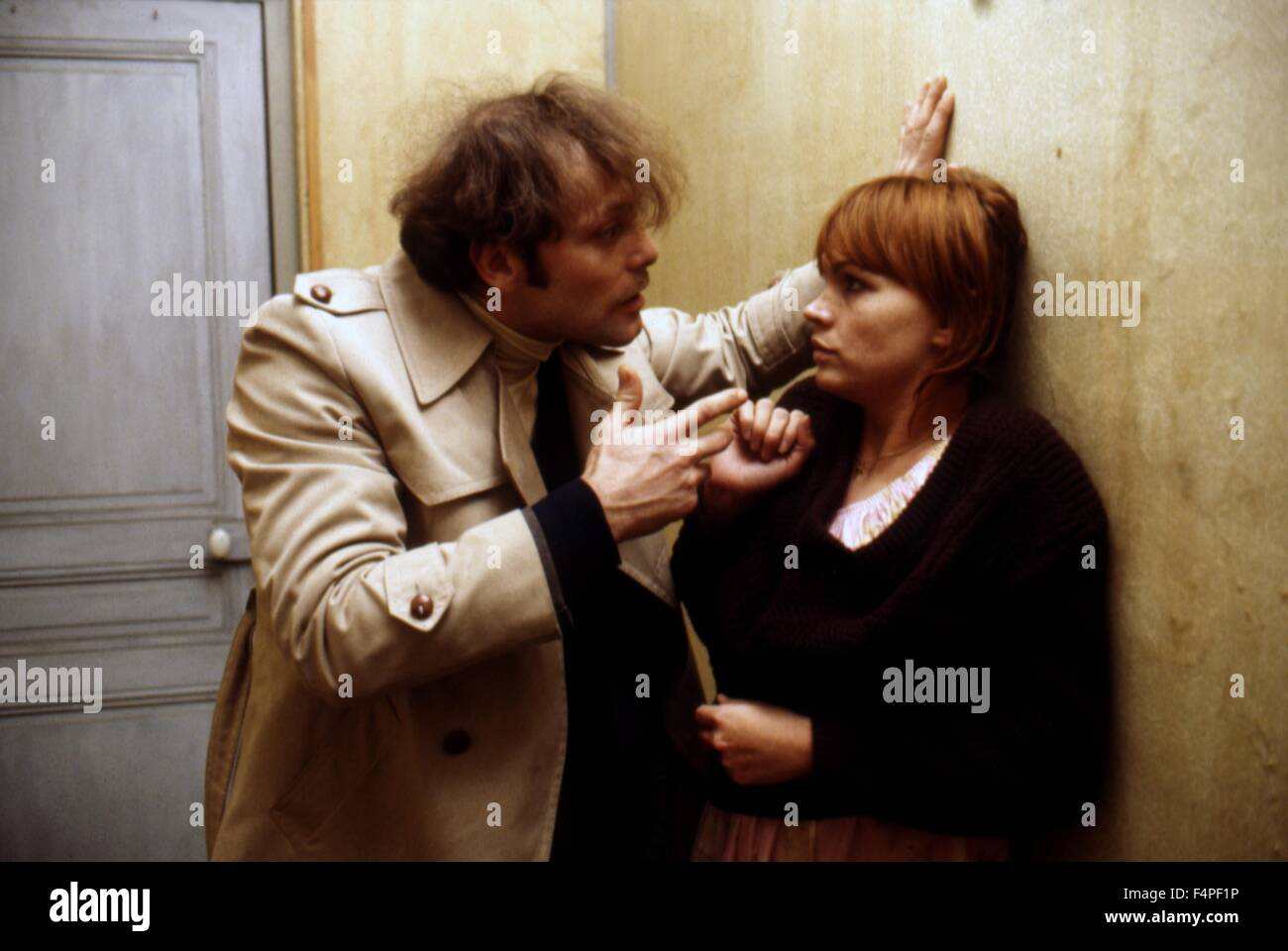 Patrick Dewaere and Myriam Boyer / Serie noire / 1979 directed by Alain  Corneau