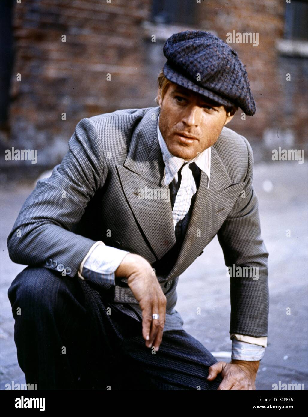 Robert Redford / The Sting / 1973 directed by George Roy Hill - Stock Image