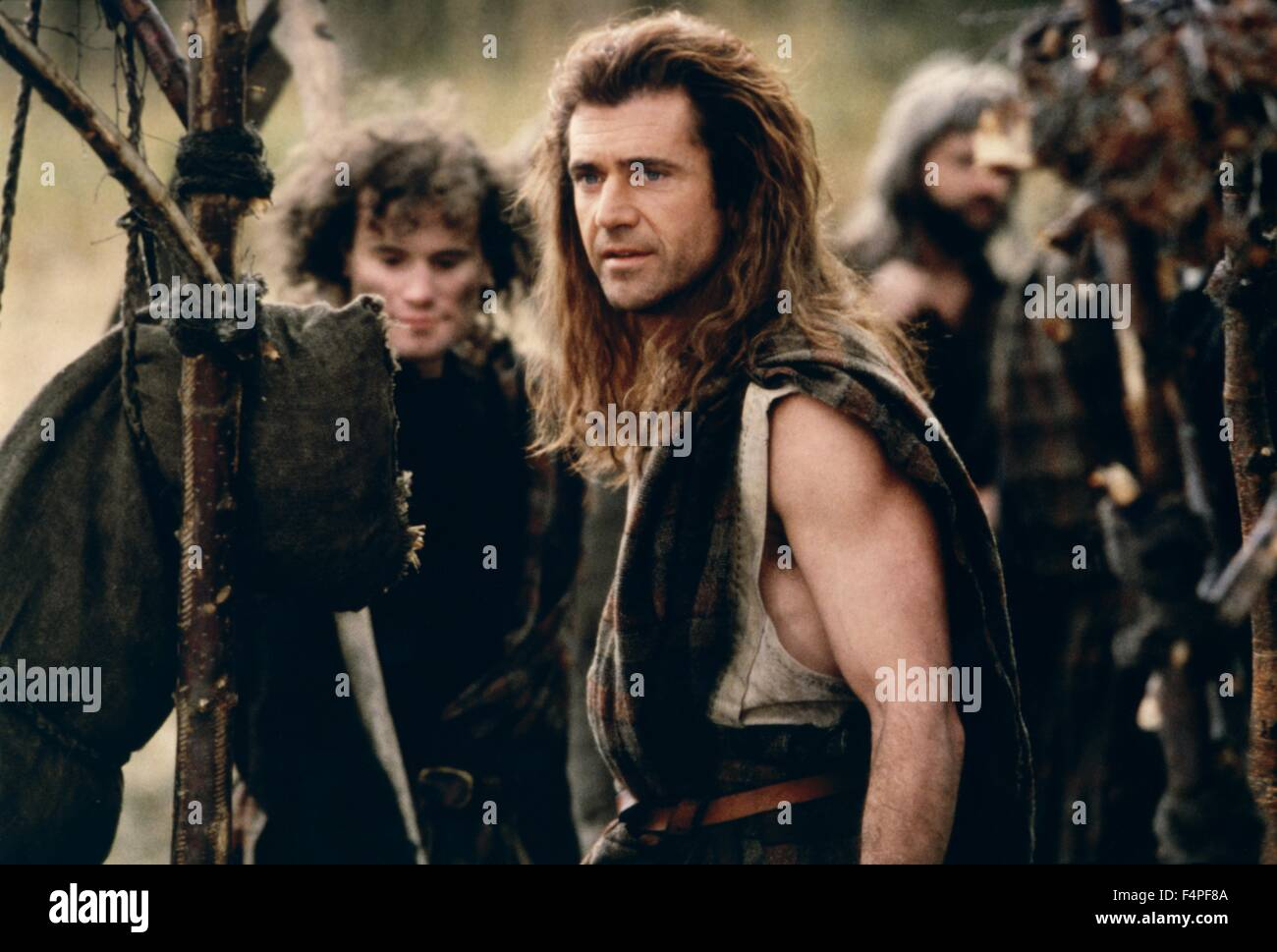 Mel Gibson / Braveheart / 1995 directed by Mel Gibson - Stock Image