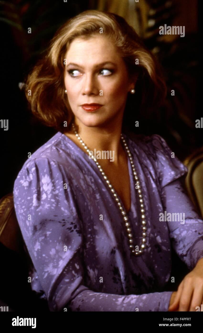 Kathleen Turner / Prizzi's Honor / 1985 directed by John Huston - Stock Image